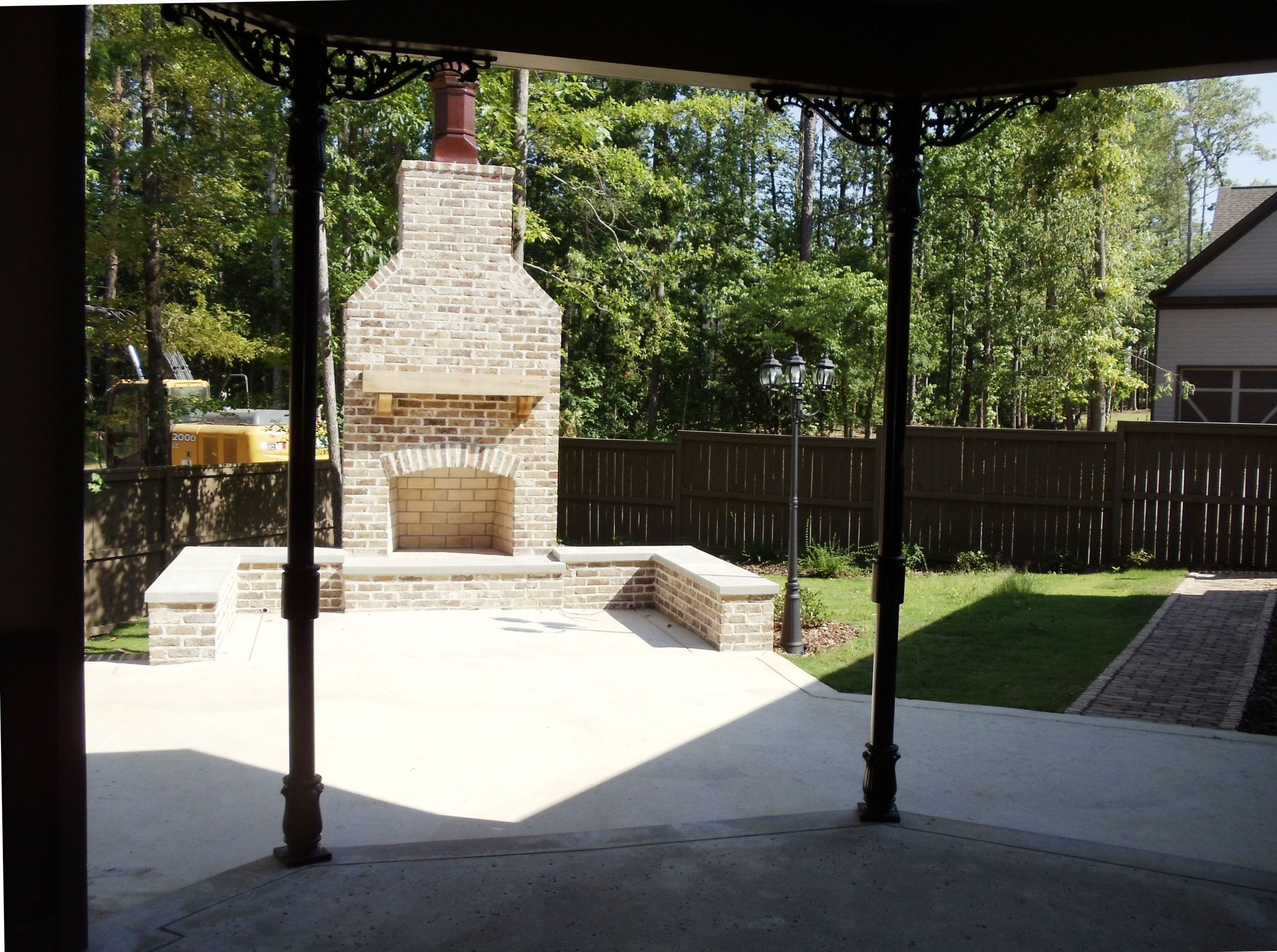 The Preserve Hoover Alabama Outdoor Fireplace
