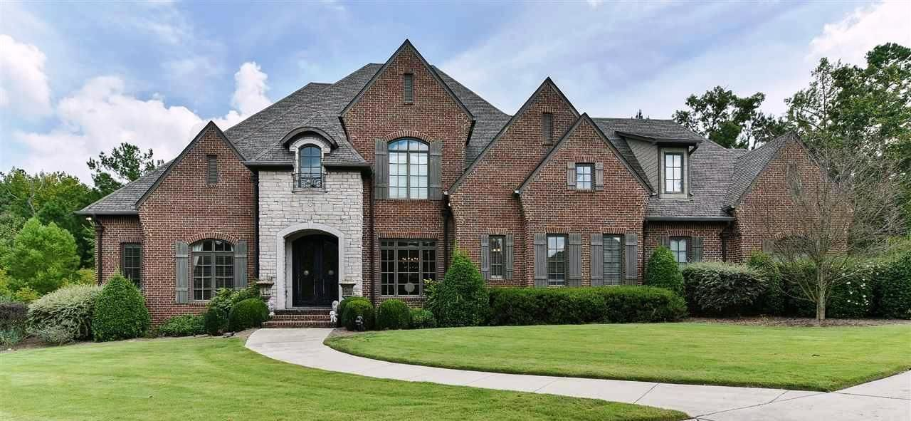 Architectural styles of greystone subdivision homes for Home builders in birmingham alabama